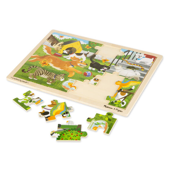 23e0d8aab77f Pets Wooden Jigsaw Puzzle - 24 Pieces