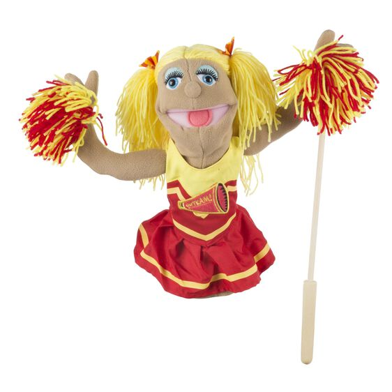 Cheerleader Puppet
