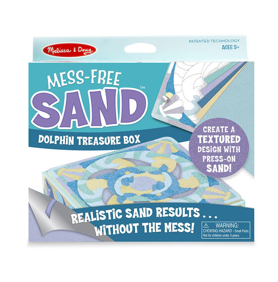 Mess Free Sand - Dolphin Treasure Box