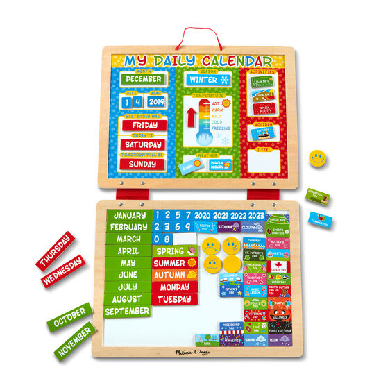 Calendrier Avent Kinder 2020.My Magnetic Daily Calendar