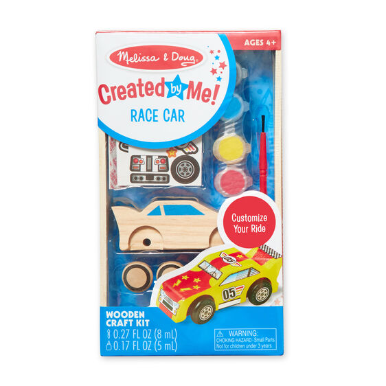 Created by Me! Race Car Wooden Craft Kit