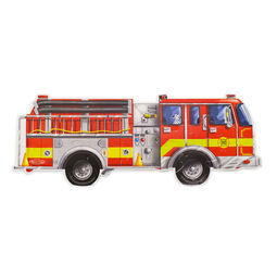 24 piece fire truck puzzle