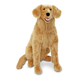 Golden Retriever dog stuffed animal