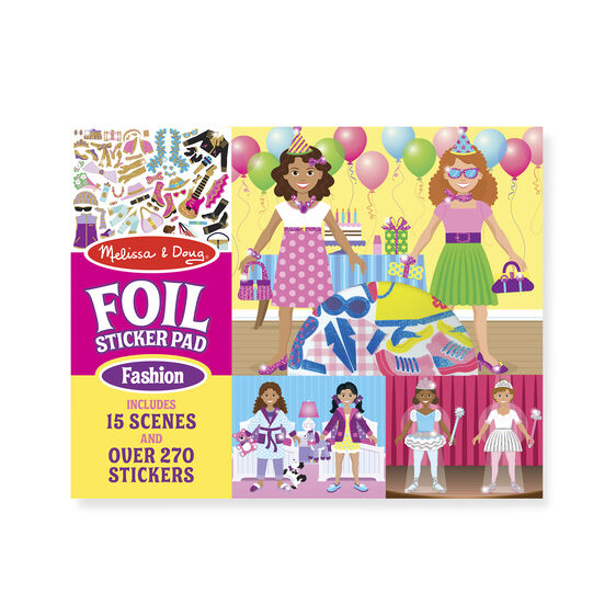 Foil Sticker Pad - Fashion