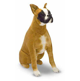 Boxer Dog Giant Stuffed Animal