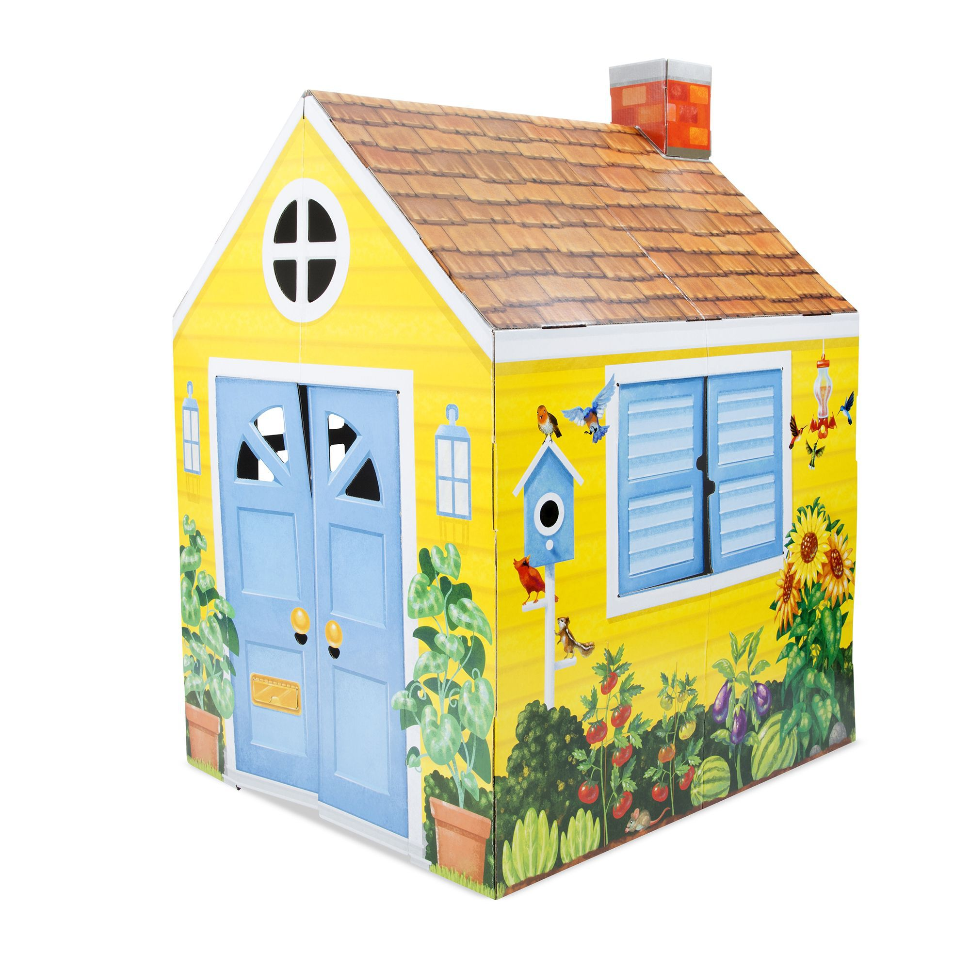 country cottage indoor playhouse melissa and doug rh melissaanddoug com countryside cottage playhouse country cottage indoor playhouse