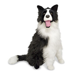 Border Collie stuffed animal