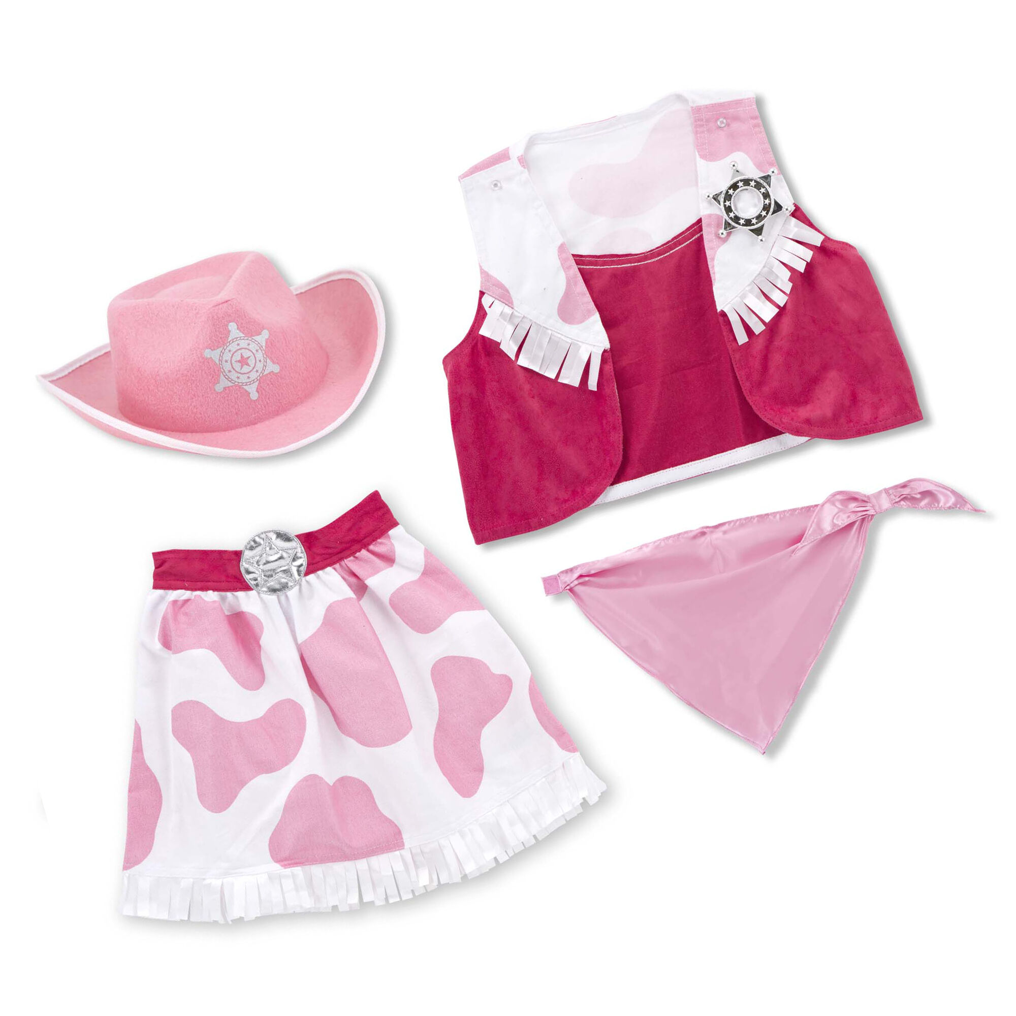 Cowgirl Role Play Costume Set  sc 1 st  Melissa u0026 Doug & Cowgirl Role Play Costume Set | Melissa u0026 Doug