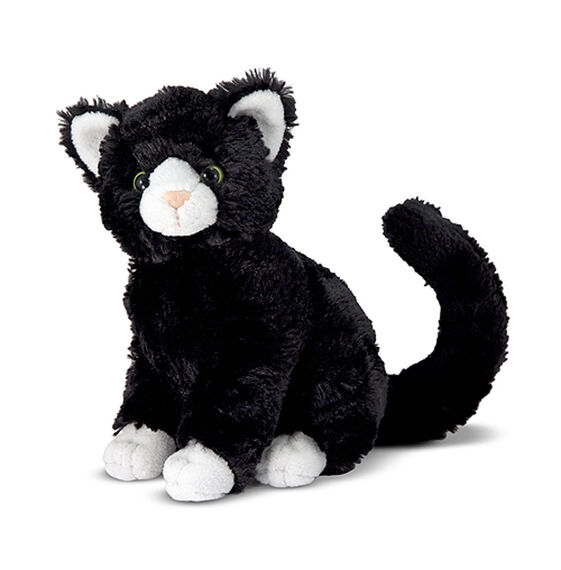 Midnight Black Cat Stuffed Animal Melissa Doug