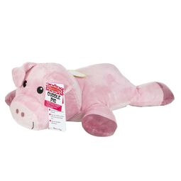 Plush stuffed pig
