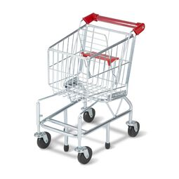 Metal grocery cart