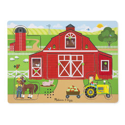 Farm themed sound puzzle