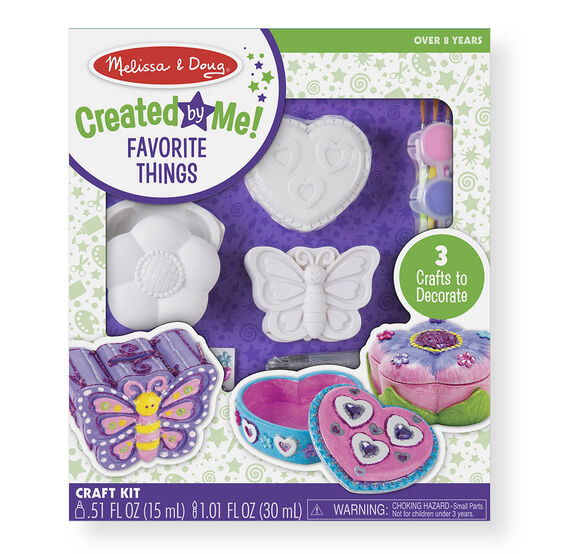 decorate your own favorite things set melissa doug