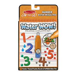 Water Wow! Numbers - On the Go Travel Activity