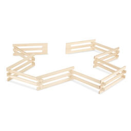 Wood Horse Corral Foldable Fence