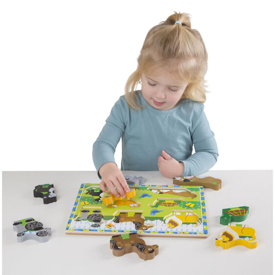 Pets Chunky Puzzle 8 Pieces
