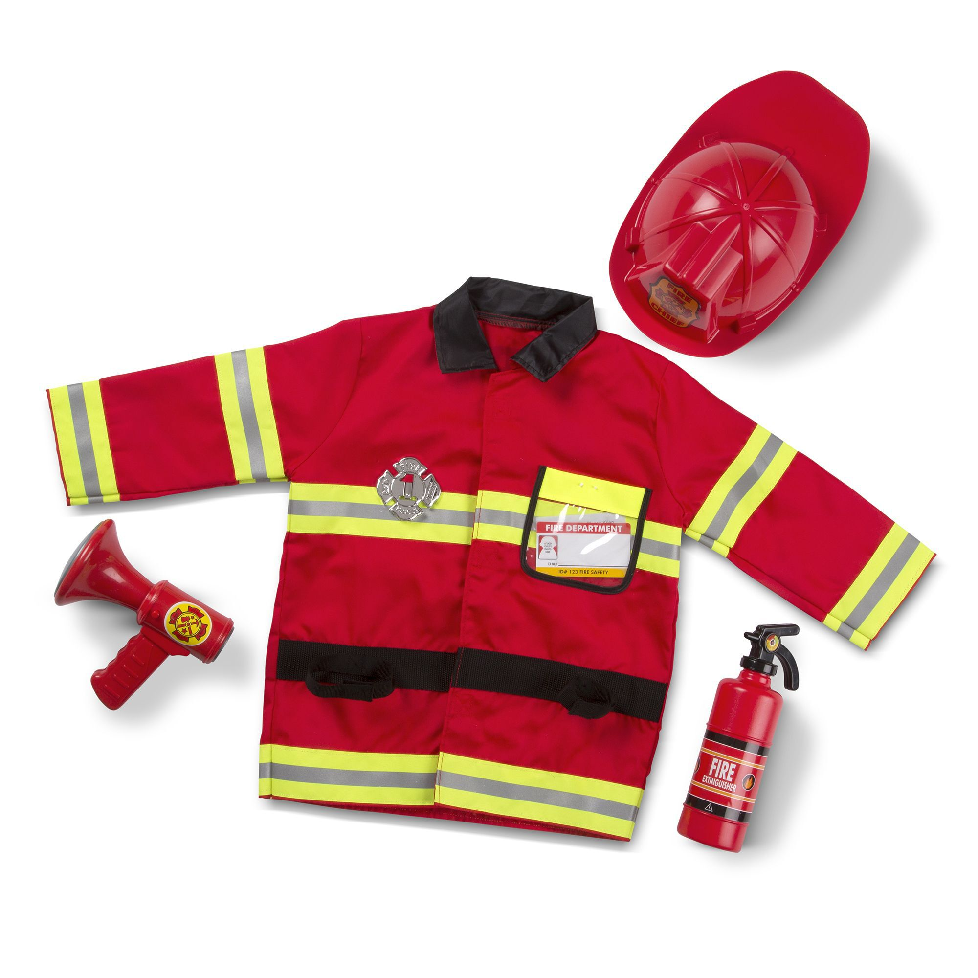 Fire Chief Role Play Costume Set  sc 1 st  Melissa u0026 Doug & Fire Chief Role Play Costume Set | Melissa u0026 Doug