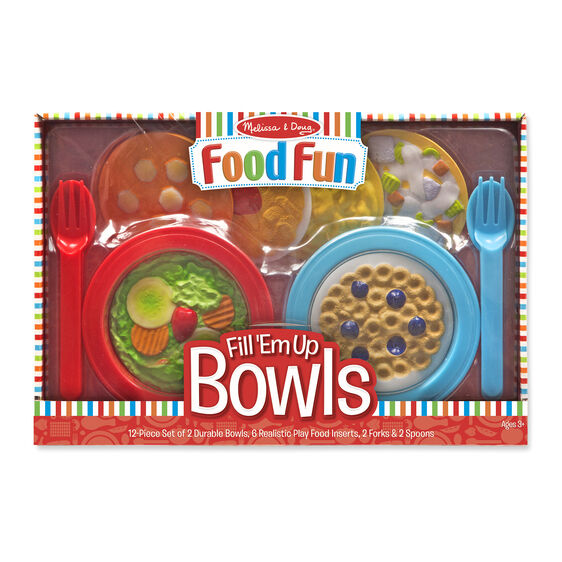 Food Fun Fill 'Em Up Bowls