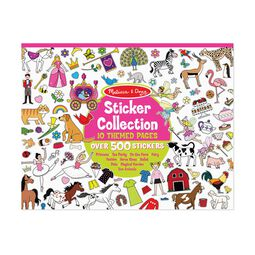 Princesses, tea party, animals, and more sticker collection book