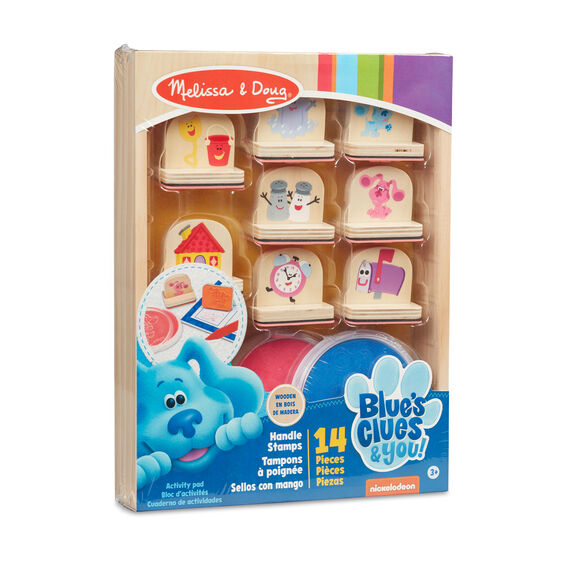 Blue's Clues & You! Wooden Handle Stamps Activity Set