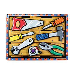 Seven piece tools chunky puzzle