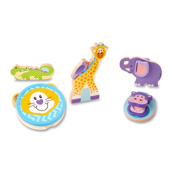 Safari animal musical instruments