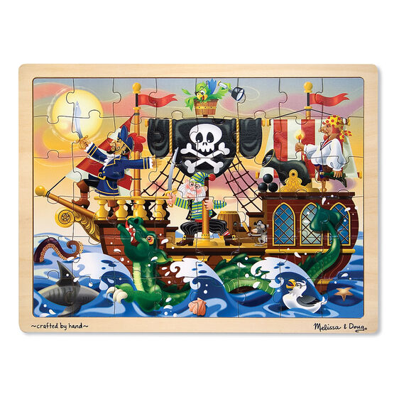 Interactive Jigsaw Map Of Ireland.Pirate Adventure Jigsaw Puzzle 48 Pieces