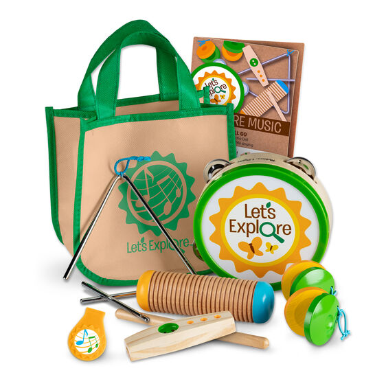 Let's Explore Camp Music Play Set