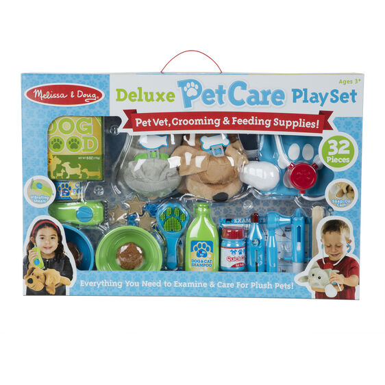 Deluxe Pet Care Play Set