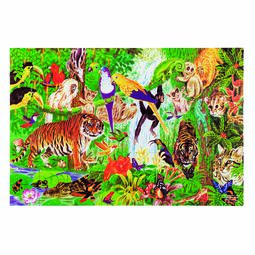 Rainforest Floor Puzzle - 48 pieces