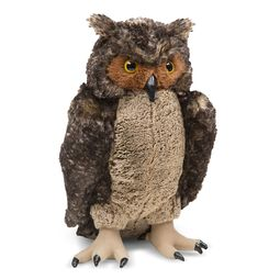 Lifelike Plush Owl