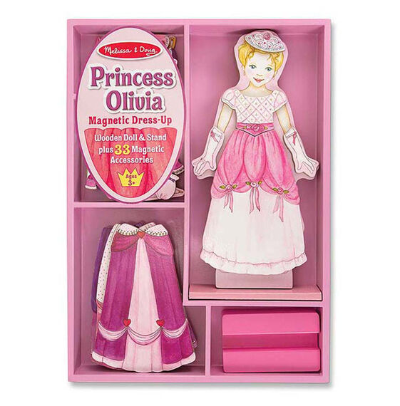 Magnetic dress up sets choices princess olivia magnetic dress up set pronofoot35fo Choice Image