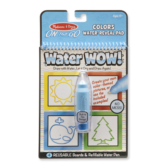 Water Wow! - Colors & Shapes Water Reveal Pad - ON the GO Travel ...