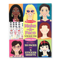 Face decoration sticker book