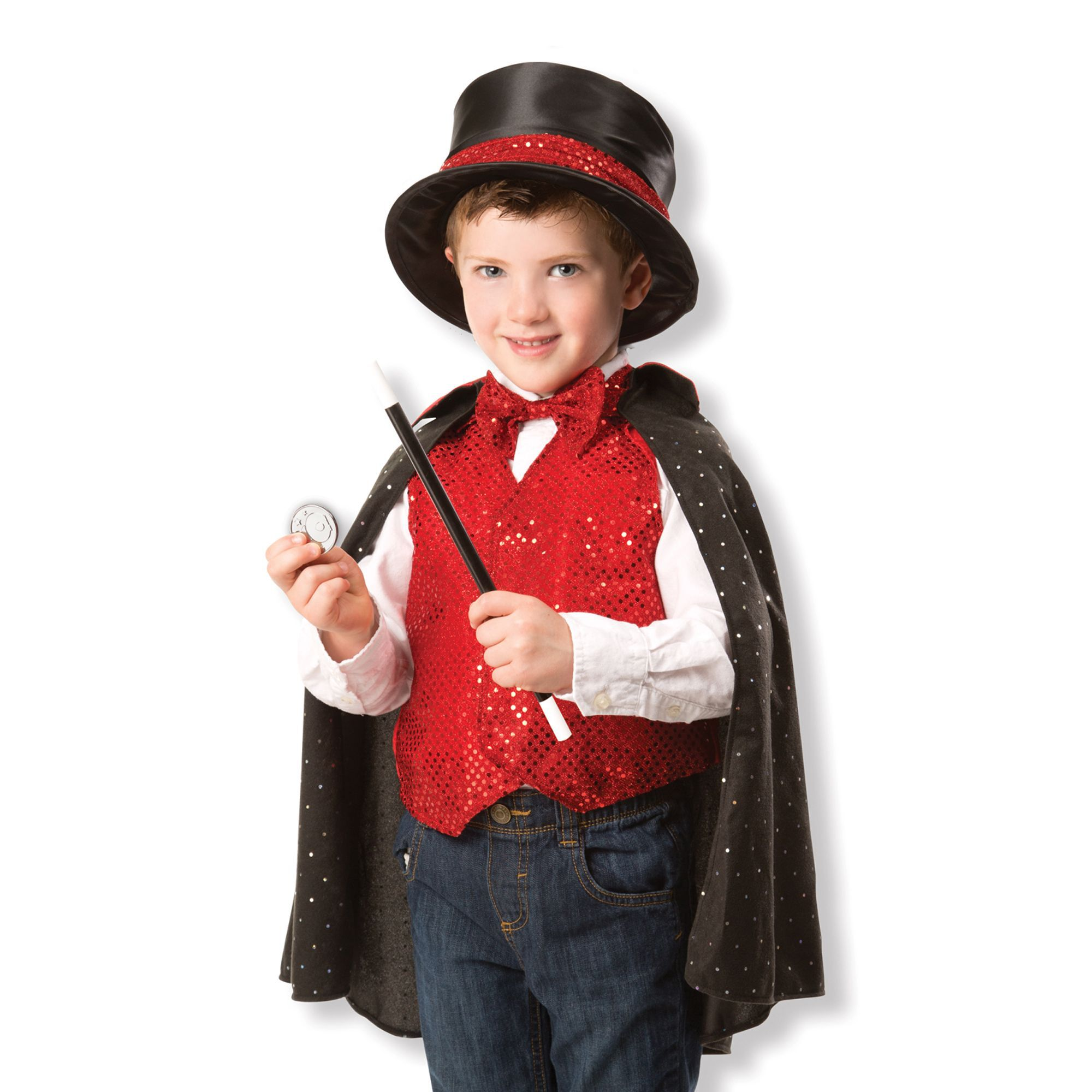 Magician Role Play Costume Set  sc 1 st  Melissa u0026 Doug & Magician Role Play Costume Set | Melissa u0026 Doug