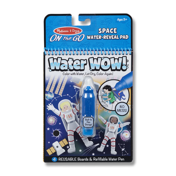 Water Wow! Space Water-Reveal Pad - On the Go Travel Activity