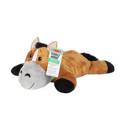 Plush stuffed horse