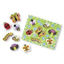 Seven piece insects chunky puzzle