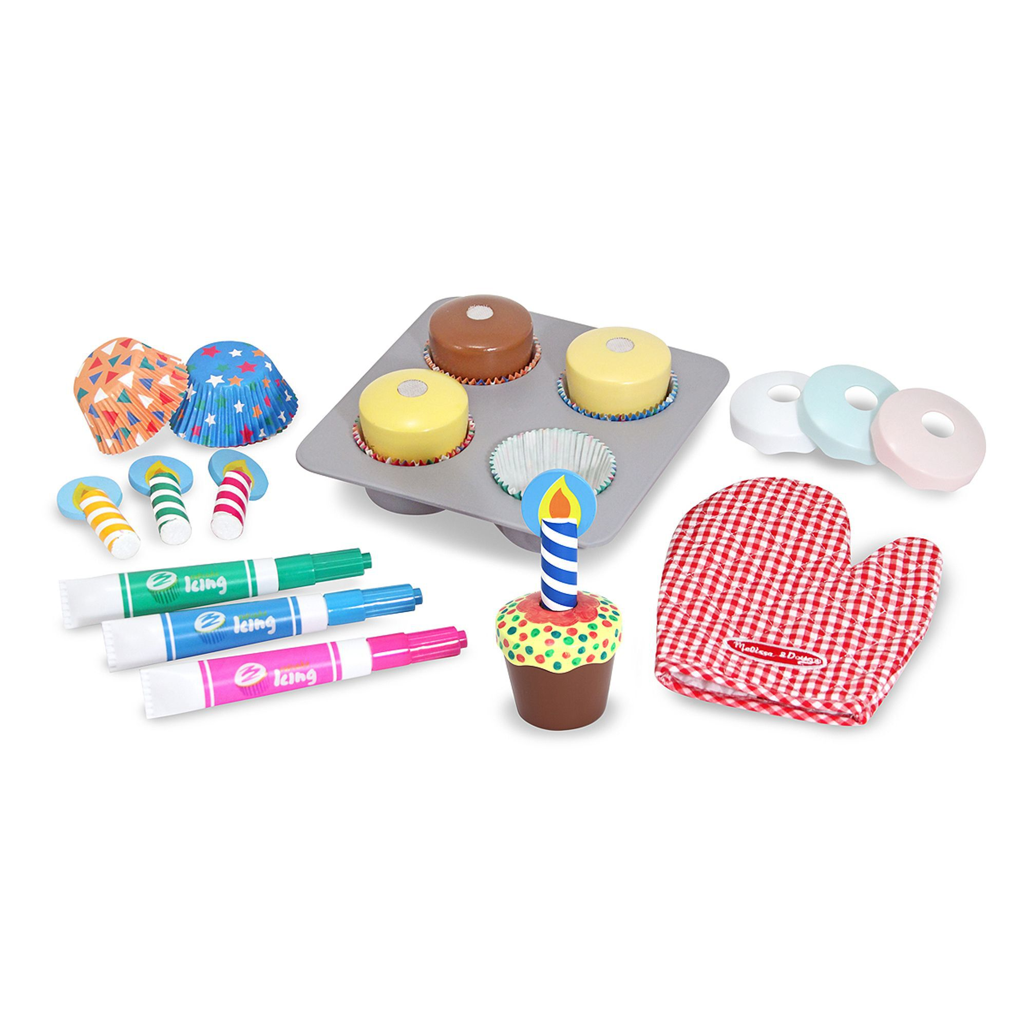 Children/'s Cupcake Fun shaped Note Pad for Kids The Bake Shop