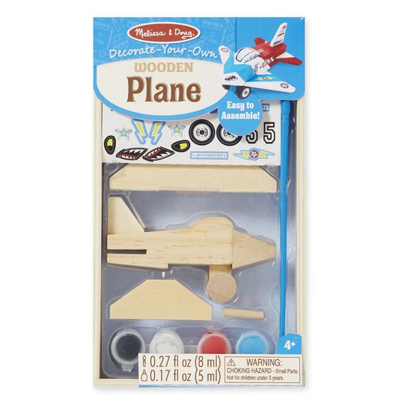 Decorate Your Own Wooden Plane