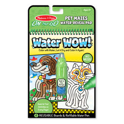 Water WOW! Pet Mazes - ON the GO Travel Activity