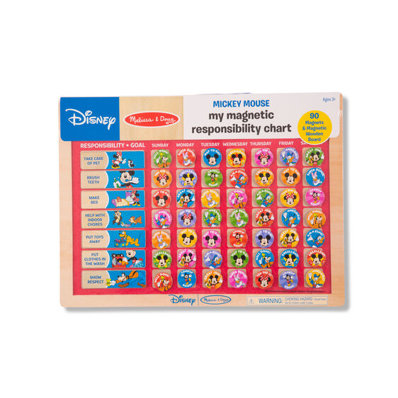 Mickey Mouse My Magnetic Responsibility Chart