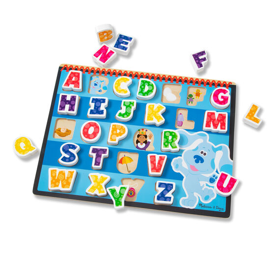 Blue's Clues & You! Wooden Chunky  Puzzle - Alphabet
