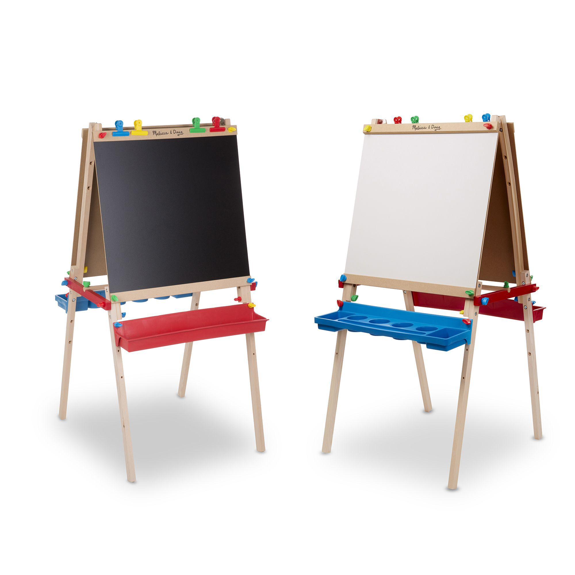 Art Easel For Kids Studio 2-in-1 Play N Fold Fun Childrens Play Set Plastic