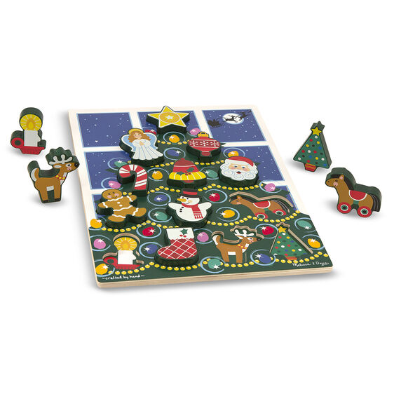 Christmas Tree Chunky Puzzle 13 Pieces