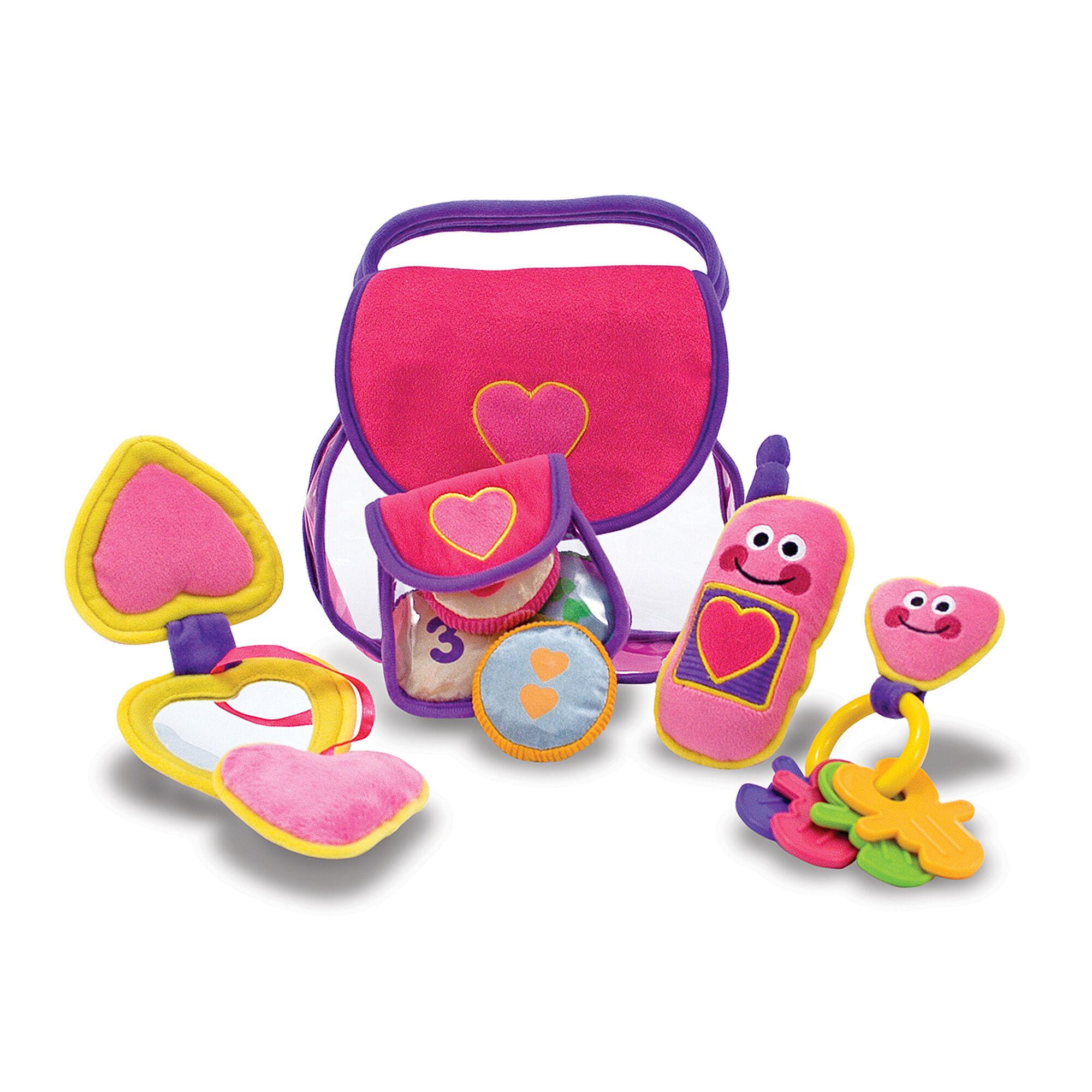 Pretty Purse Fill and Spill Toddler Toy Toys for 12-24 Months   1 year old \u0026 2 olds Melissa