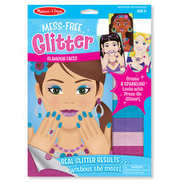 Mess-Free Glitter Glamour Faces