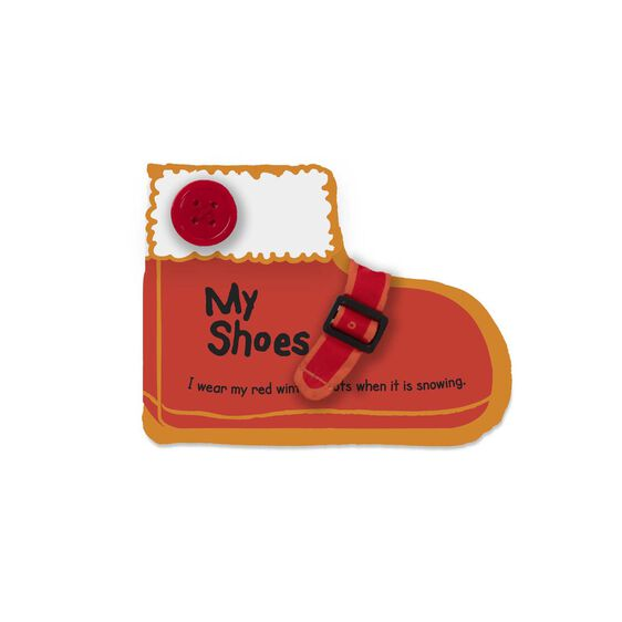 K's Kids My Shoes Cloth Book
