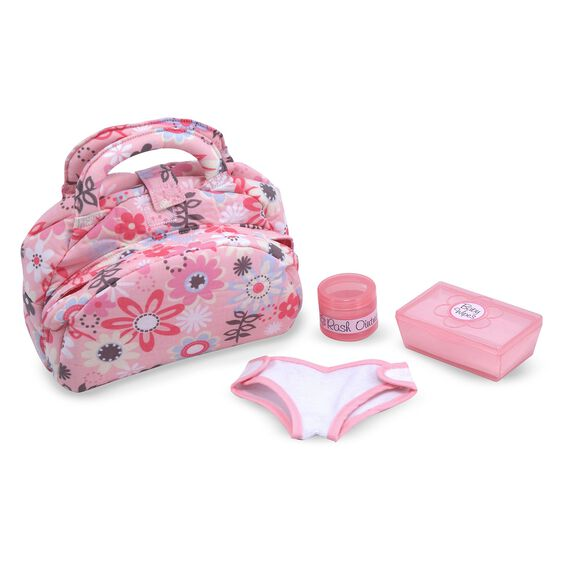 Baby doll diaper set
