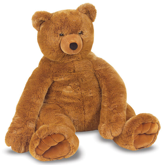 Brown stuffed teddy bear